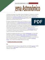 Unidades astronomicas