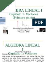 Algebra Lineal - vectores