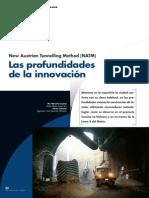 Métodos Línea 4 Metro y Túnel La Pólvora