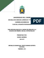 Plan de Pasantia Sandro Herrera