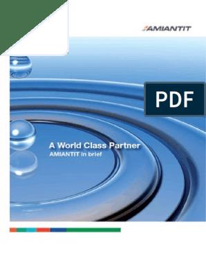 Amiantit Brochure | Fiberglass | Pipe (Fluid Conveyance)
