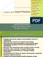 NSU IB Lecture 7 Export and Import