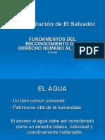 Fundamentos Del Reconocimiento Del Derecho Humano Al Agua