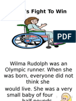 Wilma's Fight to Win