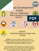 Millennial Development Goals Final