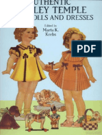 Dover - Authentic Shirley Temple - Paper Dolls and Dresses
