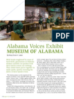 Alabama Voices Exhibit - Museum of Alabama
