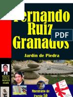 JARDÍN DE PIEDRA, DE FERNANDO RUIZ GRANADOS