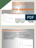Estructuras Algebraicas (Operaciones).