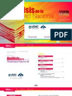 Revista Análisis de La Realidad Nacional No. 67