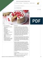 Tarta de Crema de Mantequilla Con Frambuesas _ Postres