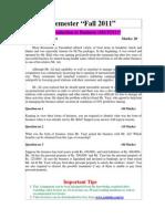 MGT211 Finance book