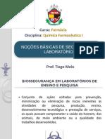 Noções Básicas de Biossegurança Para o Laboratório