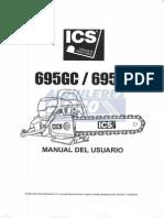 Manual Motosierra 695F4