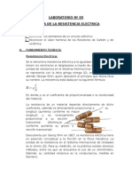 LABORATORIO Nº3.Medida de Lla Resistencia Electrica - Copia