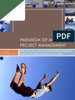 Paradigm of Agile Project Management