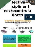 Clase 1 Electiva Disciplinar I Microcontroladores