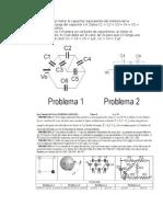 Problemas asociacion capacitores y resistencias