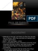 paul of tarsus - powerpoint