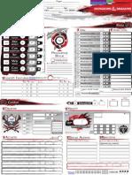 Character Sheet v4.2 (A4)