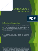 Temperaturas e Isotermas