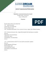 Osservatorio Comunicazioni Elettroniche_workshop Luiss_170215