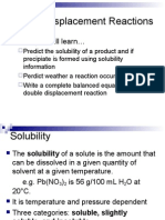 2-3 double displacement chemical reactions
