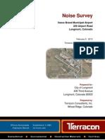 Terracon Longmont Airport Noise Report