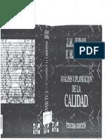 Analisis y Planeacion de La Calidad CAP5y6