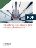 Travailler en toute sécurité dans les cages d'ascenseurs - Suvapro.pdf
