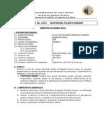 103c_gestion Del Talento Humano