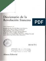 Ozouf, Mona y Furet, François_Diccionario de La Revolución Francesa (Términos Seleccionados)