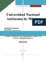 Hidrología aplicada a cuenca Chiapas
