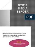 Otitis Media Serosa