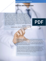 Biometrics in Healthcare