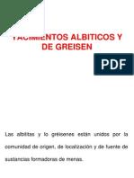 Yacimientos Albiticos y de Greisen