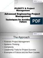3-Complexity - Advanced Engineering Project Management
