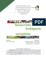 Expo Desarrollo Endogeno Socialista