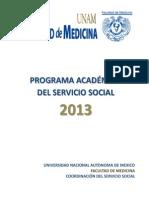 Programa Academico Actualizacion 2013