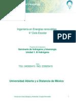 Unidad 1. El Hidrogeno Texto
