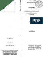 Othello (Shakespeare) Introducción edición Cátedra