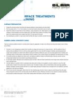 Concrete Surface Treatments