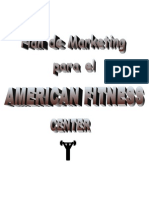 Plan de Marketing American Fitness Center