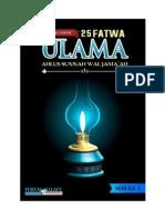25 FATWA ULAMA AHLUS SUNNAH SERI 2 (1).pdf