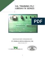Modul Training Plc Mitsubishi Fx Series