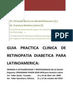 Panamericandiabeticretinopathyguide2011 Spanish