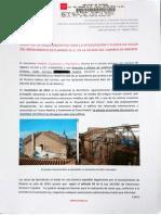 Solicitud de requerimientos para la intervención y puesta en valor del monumento declarado BIC de la Iglesia del Carmen en Madrid