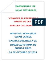 Proyecto Bs. as, 2º AÑO 2014