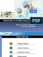 146433097 Indikasi Dan Komplikasi Intubasi