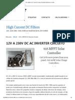 12V a 230V AC DC Inverter Circuito _ Proyectos Electrónica Circuitos